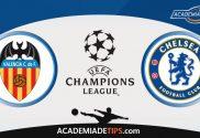 Valencia vs Chelsea, Prognóstico e Palpites de Apostas – Champions League