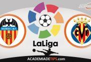 Valencia vs Villareal, Prognóstico e Palpites de Apostas – La Liga