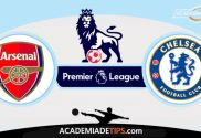 Arsenal x Chelsea, Prognóstico, Analise e Palpites de Apostas - Premier League