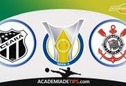 Ceará x Corinthians, Prognóstico e Palpites de Apostas - Brasileirão Serie A