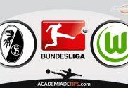 Freiburg vs Wolfsburg, Prognóstico e Palpites de Apostas – Bundesliga