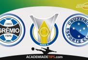 Grêmio x Cruzeiro, Prognóstico e Palpites de Apostas - Brasileirão Serie A