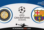 Inter vs Barcelona, Prognóstico e Palpites de Apostas – Champions League