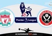 Liverpool x Sheffield United, Prognóstico, Analise e Palpites de Apostas - Premier League