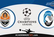 Shakhtar vs Atalanta, Prognóstico e Palpites de Apostas – Champions League