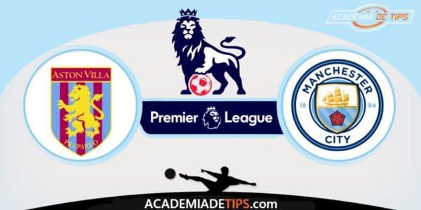 Aston Villa vs Manchester City, Prognóstico, Analise e Palpites de Apostas - Premier League