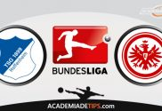 Hoffenheim x Frankfurt, Prognóstico e Palpites de Apostas – Bundesliga