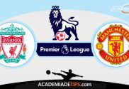 Liverpool vs Manchester United, Prognóstico, Analise e Palpites de Apostas - Premier League