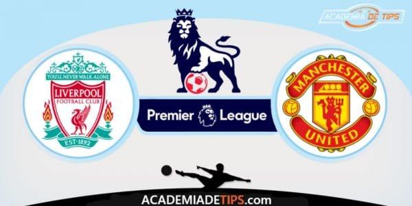 Liverpool vs Manchester United, Prognóstico, Analise e Palpites de Apostas - Premier League