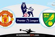 Manchester United vs Norwich, Prognóstico, Analise e Palpites de Apostas - Premier League