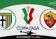 Parma x Roma, Prognóstico, Analise e Palpites de Apostas – Coppa Italia
