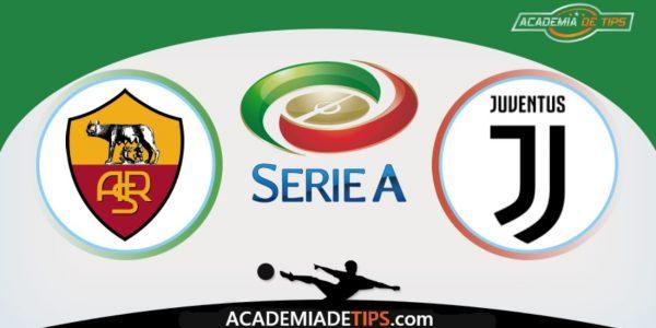 Roma vs Juventus, Prognóstico, Analise e Palpites de Apostas – Italia Serie A