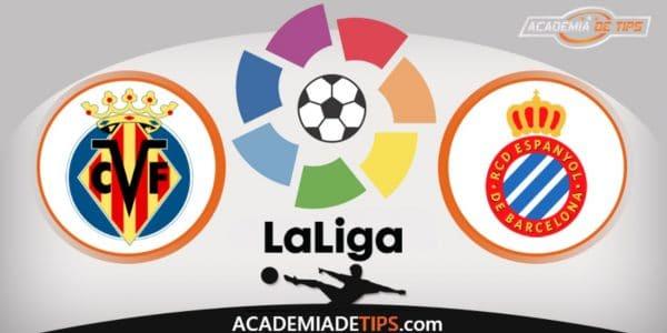 Villarreal x Espanyol, Prognóstico, Analise e Palpites de Apostas – La Liga