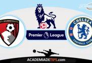 Bournemouth x Chelsea, Prognóstico, Análise e Palpites de Apostas - Premier League