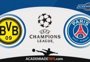 Dortmund x PSG, Prognóstico, Analise e Palpites de Apostas – Champions League