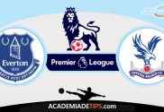Everton vs Crystal Palace, Prognóstico, Analise e Palpites de Apostas - Premier League
