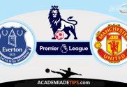 Everton x Man United, Prognóstico, Análise e Palpites de Apostas - Premier League