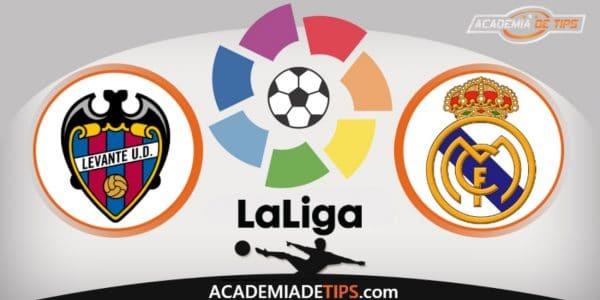 Levante x Real Madrid, Prognóstico, Analise e Palpites de Apostas – La Liga
