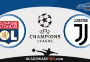 Lyon x Juventus, Prognóstico, Análise e Palpites de Apostas – Champions League