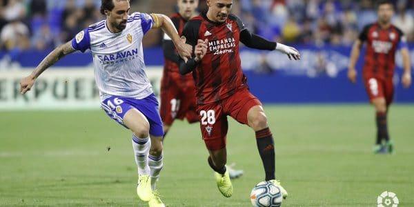 Mirandes vs Real Zaragoza Apostas