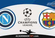 Napoli x Barcelona, Prognóstico, Analise e Palpites de Apostas – Champions League