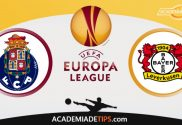 Porto x Leverkusen, Prognóstico, Analise e Palpites de Apostas – Europa League