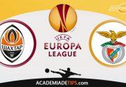Shakhtar x Benfica, Prognóstico, Analise e Apostas - Liga Europa