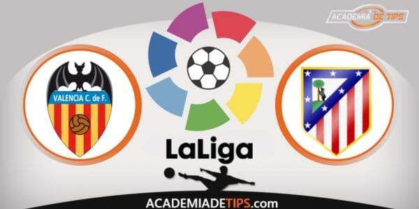 Valencia vs Atl. Madrid, Prognóstico, Analise e Palpites de Apostas – La Liga