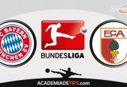 Bayern x Augsburg, Prognóstico, Analise e Palpites de Apostas – Bundesliga