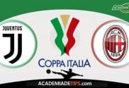 Juventus x AC Milan, Prognóstico, Analise e Palpites de Apostas – Coppa Italia