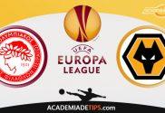 Olympiacos vs Wolves , Prognóstico, Analise e Palpites de Apostas – Europa League