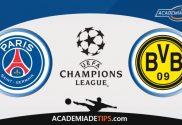 PSG x Dortmund, Prognóstico, Analise e Palpites de Apostas – Champions League