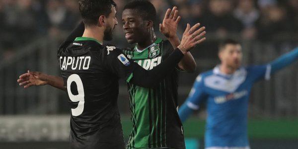 Sassuolo vs Brescia