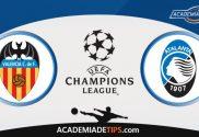 Valencia x Atalanta, Prognóstico, Analise e Palpites de Apostas – Champions League