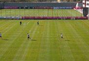 FC Bayern Treinou Hoje em Pequenos Grupos no Centro de Estágio