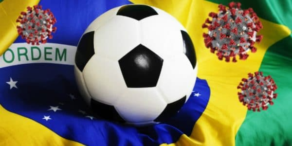 Momento do Futebol Brasileiro - Stop Covid-19