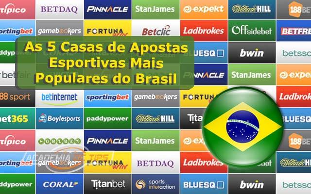 As 5 Casas de Apostas Esportivas Mais Populares do Brasil 1