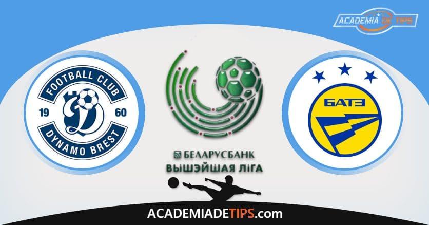 Dinamo Brest x Bate Borisov, Prognóstico, Análise e Palpites de Apostas - Liga Bielorrussa