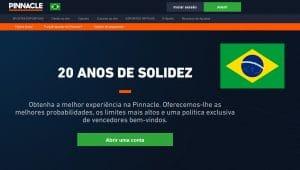 Pinnacle Brasil, Cadastro, Mercados, Bônus, Saques e Depósitos