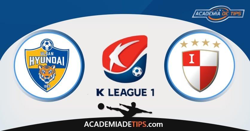 Ulsan Hyundai x Busan, Prognóstico, Analise e Palpites de Apostas – K League 1