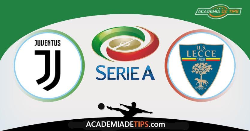 Juventus x Lecce, Prognóstico, Analise e Palpites de Apostas – Serie A