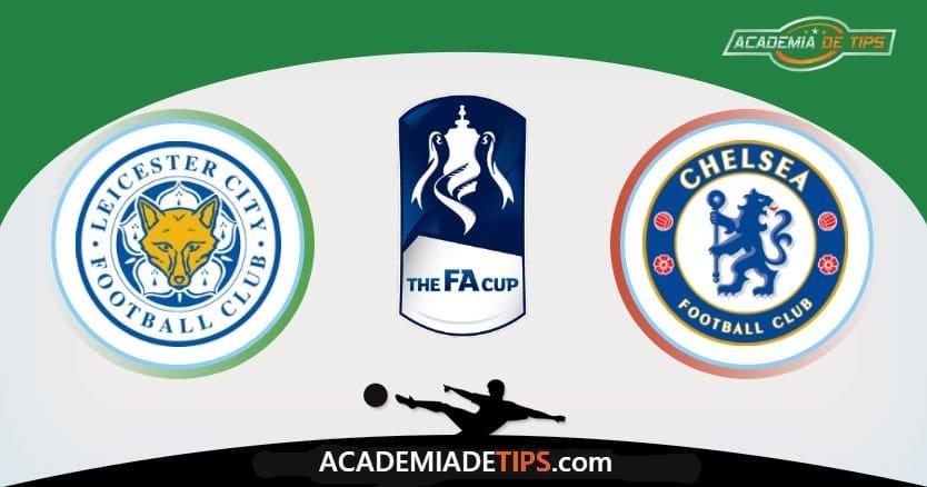 Leicester x Chelsea, Prognóstico, Análise e Palpites de Apostas - FA Cup