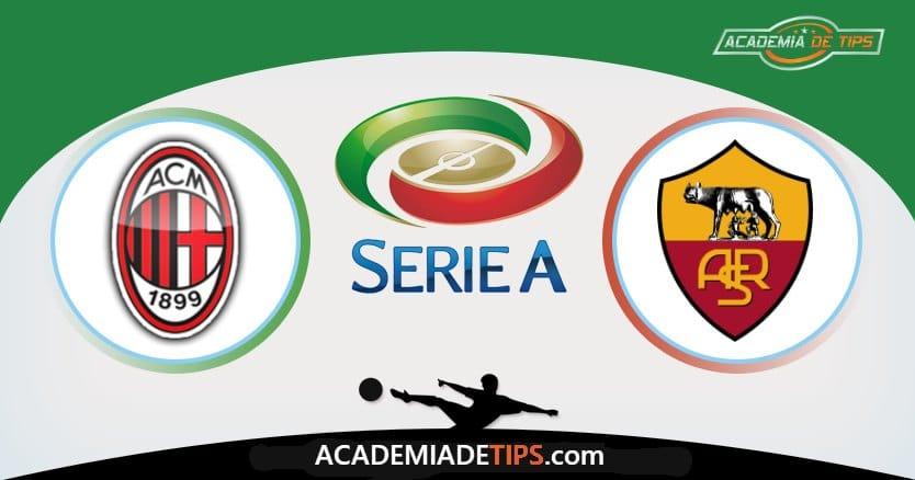 Milan x Roma, Prognóstico, Analise e Palpites de Apostas – Serie A
