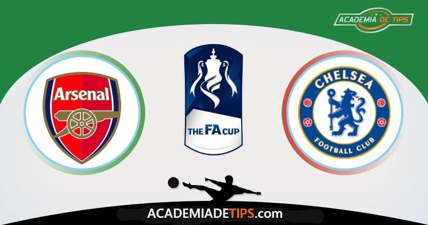 Arsenal x Chelsea, Prognóstico, Análise e Palpites de Apostas – FA Cup - Final da Taça de Inglaterra