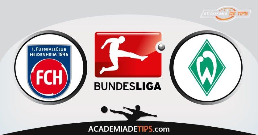 Heidenheim x Bremen, Prognóstico, Analise e Palpites de Apostas – Playoff Bundesliga