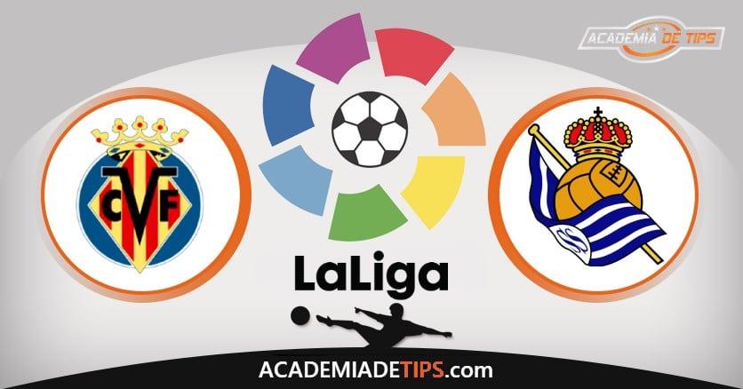 Villarreal x Real Sociedad, Prognóstico, Análise e Palpites de Apostas – La Liga