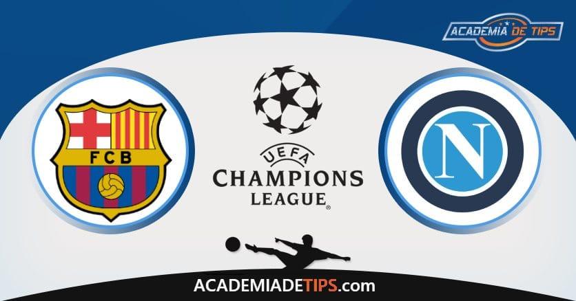 Barcelona x Napoli, Prognóstico, Análise e Palpites de Apostas – Champions League