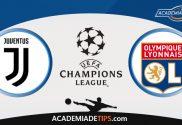 Juventus vs Lyon, Prognóstico, Analise e Palpites de Apostas – Champions League