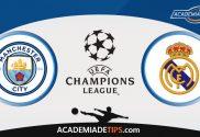 Man City x Real Madrid, Prognóstico, Análise e Palpites de Apostas – Champions League