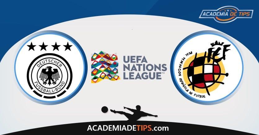 Alemanha x Espanha Prognóstico, Análise e Palpites de Apostas – UEFA Nations League